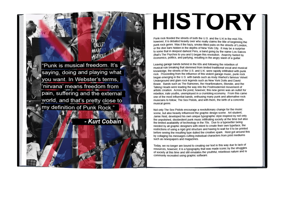 History Double Spread